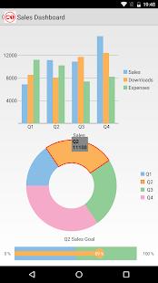 ComponentOne Studio for Xamarin Control Explorer - náhled