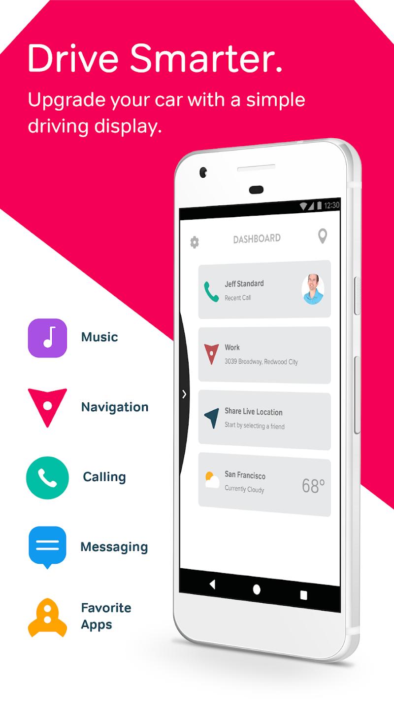 Drivemode: Safe Driving App Screenshot 0
