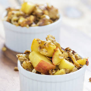 Apple Crumble Overnight Oats.