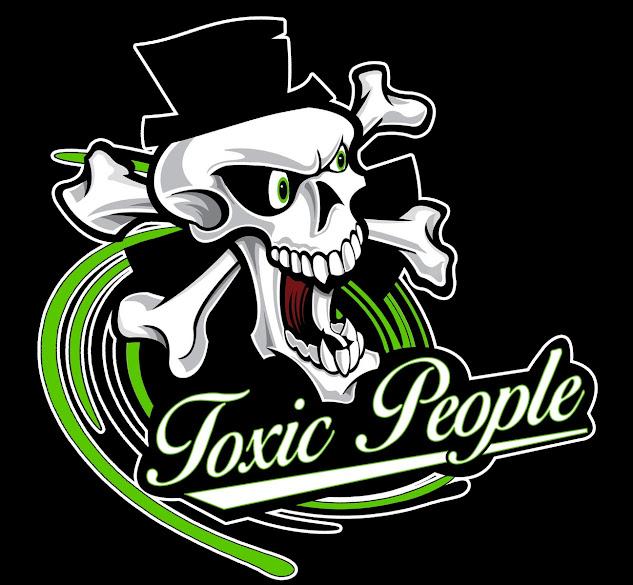Toto je nové logo Toxic People. Objednejte si ho na tričku!