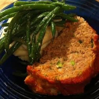Chris's Incredible Italian Turkey Meatloaf.