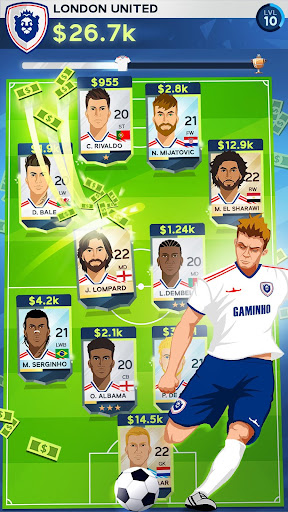 Code Triche Idle Eleven - Devenez un millionnaire du football APK MOD screenshots 3