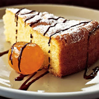 Olive Oil Cake With Glace Fruit.