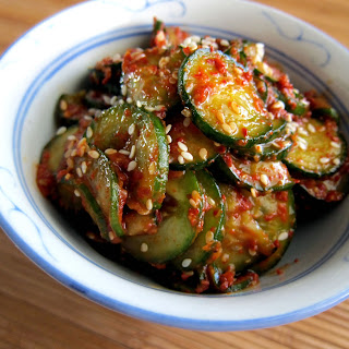 Korean Cucumber Salad