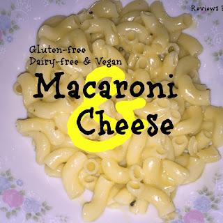 Gluten-free and Vegan Macaroni & Cheese