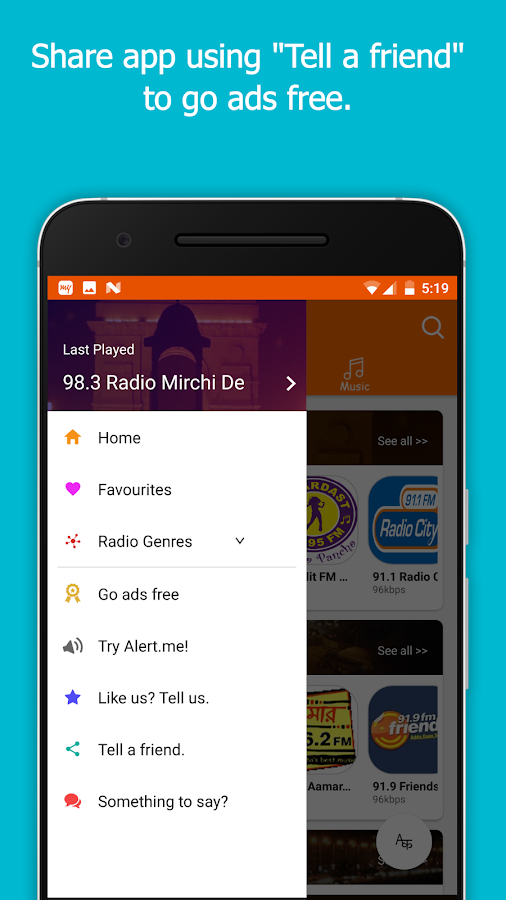 FM Radio India - Live Stations- screenshot