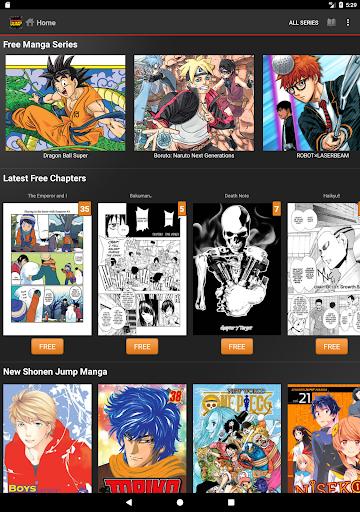 Shonen Jump Manga & Comics 4.1.4 Screenshots 5