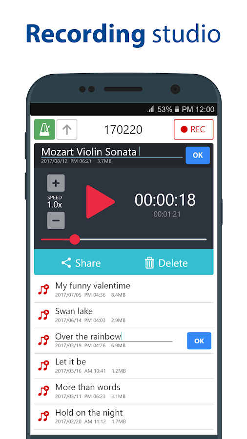 Vibrating metronome app android / Javvy ico menu and prices
