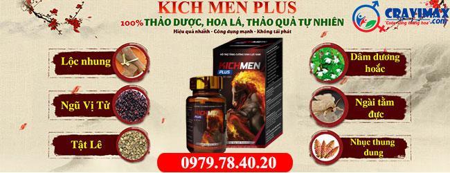 thành phần Kichmen Plus