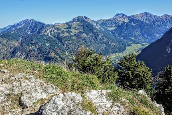 Imberger Horn Hintersteiner Tal Iseler Bschießer Ponten Gaishorn Rauhhorn, Kugelhorn Allgäu