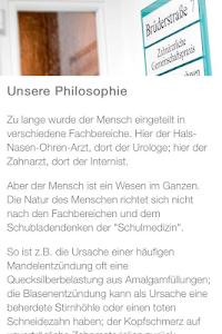 Praxiszentrum Brüderstr. screenshot 1