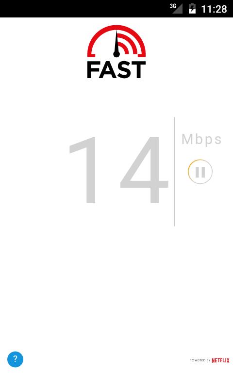 FAST Speed Test APK 1.0.8 screenshots 1