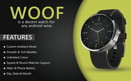 Decent Black Woof HD Watch