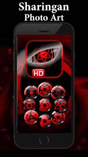 Sharingan Eye Sticker Art Design 1.00 screenshots 2
