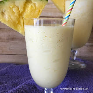 Pineapple Orange Breakfast Shake.