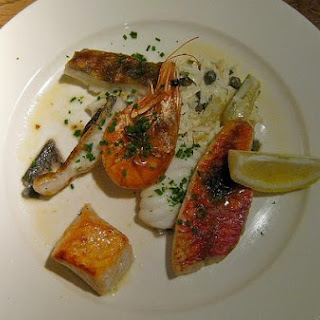 Mixed Seafood Grill.