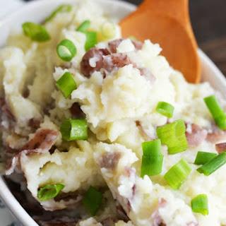 Garlic Red Bliss Mashed Potatoes