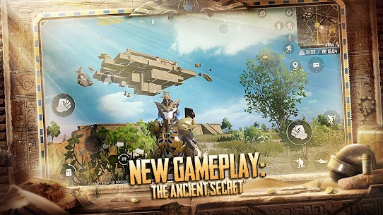 PUBG MOBILE MOD APK 1.1.0 x-ray slider dlg cheat 3