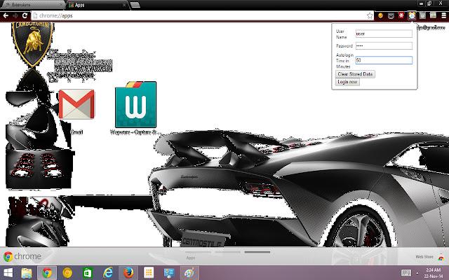 Wepware Auto-login
