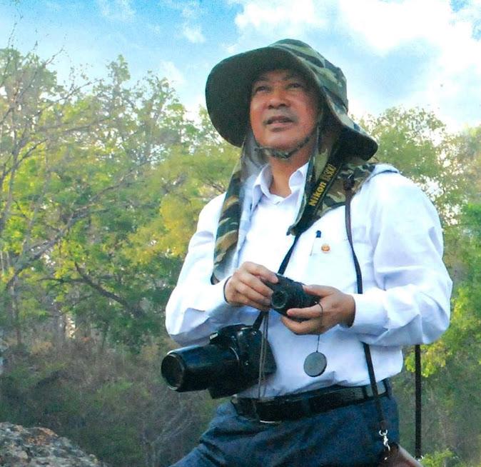 Nhà báo, NSNA Trần Duy Ngoãn trong một lần tác nghiệp