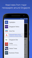 Screenshot of SG Headlines