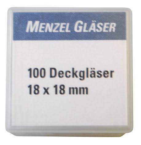 Täckglas 18x18mm /200