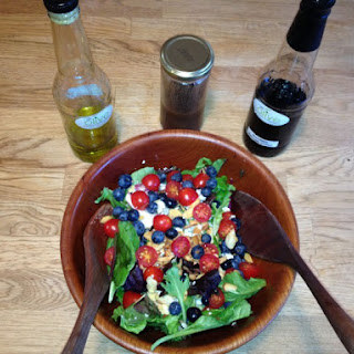 Summer Salad with Lemon Blackberry Balsamic Vinaigrette Recipe