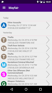 PhillyBlotter- screenshot thumbnail