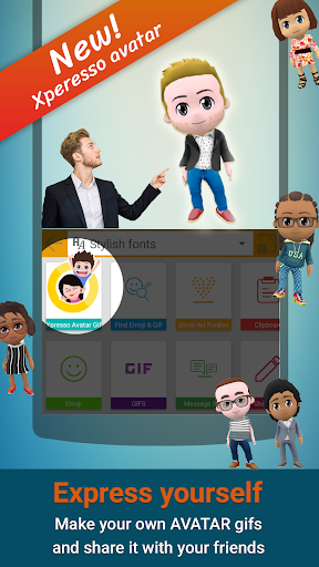Screenshot for ai.type keyboard Plus + Emoji in United States Play Store