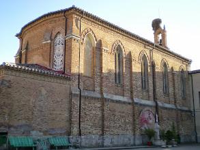 Photo: Etapa 15. Iglesia de l'alberg Espiritu Santo. Carrión de los Condes