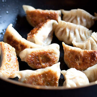Gyoza Recipe (Japanese Pork and Shrimp Pot Stickers).