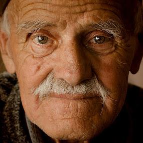 Deda Bogoljub by Aleksandar Milosavljević - People Portraits of Men ( face, people, , Travel, People, Lifestyle, Culture )
