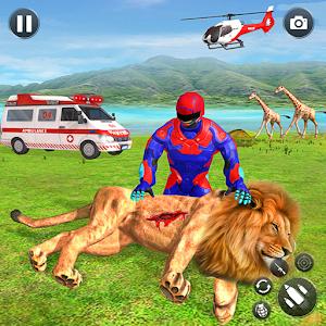 Light Superhero Speed Hero Robot Rescue Mission for pc