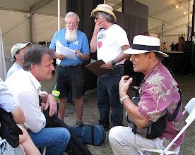 Photo: Tom Jeffreys, Gary Veeder, Ambrose Verdibello, Gene Lowinger - Photo by Fred Robbins