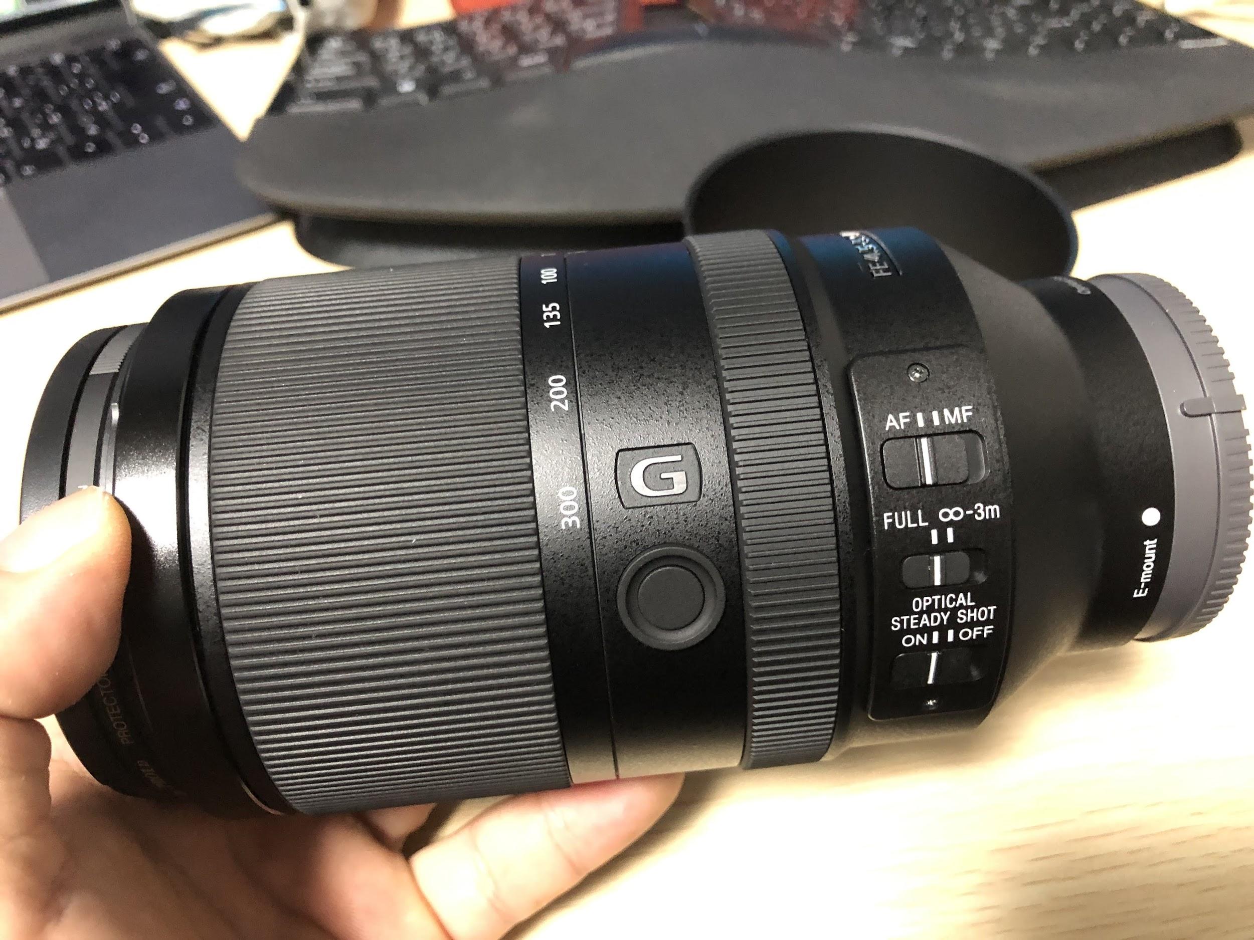 Eマウント望遠レンズ SONY FE 70-300mm F4.5-5.6 G – SEL70300G を買った