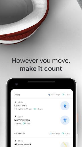 Google Fit: Health and Activity Tracking screenshot 4