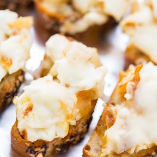 Sweet Onion Crostini.