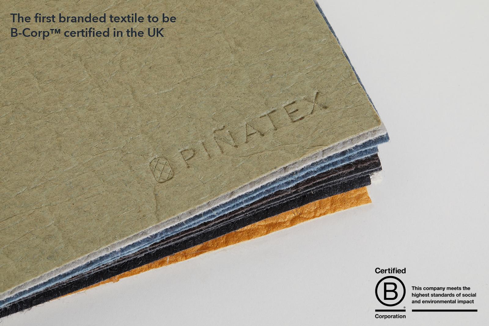 Tessuti sostenibili: Pinatex pelle vegetale