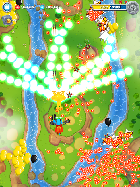 #1. Bloons Supermonkey 2 (Android)