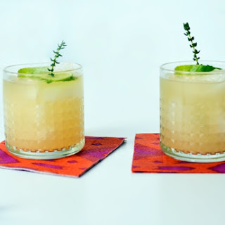 Pear and Wine Cocktail