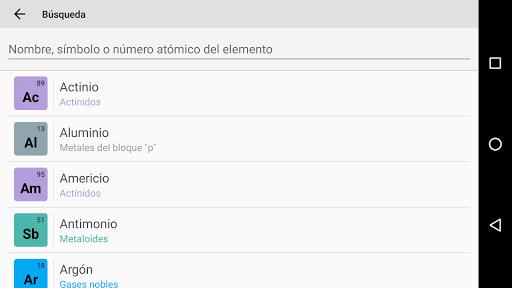 Tabla peridica pro v550 apk apps para android gratis descargar tabla peridica pro v550 apk urtaz Images