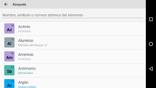 Tabla peridica pro apk aplicacin de educacin todoapk tabla peridica pro apk 5 urtaz Image collections