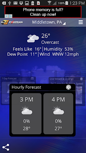abc27 Weather - Harrisburg, PA- screenshot thumbnail