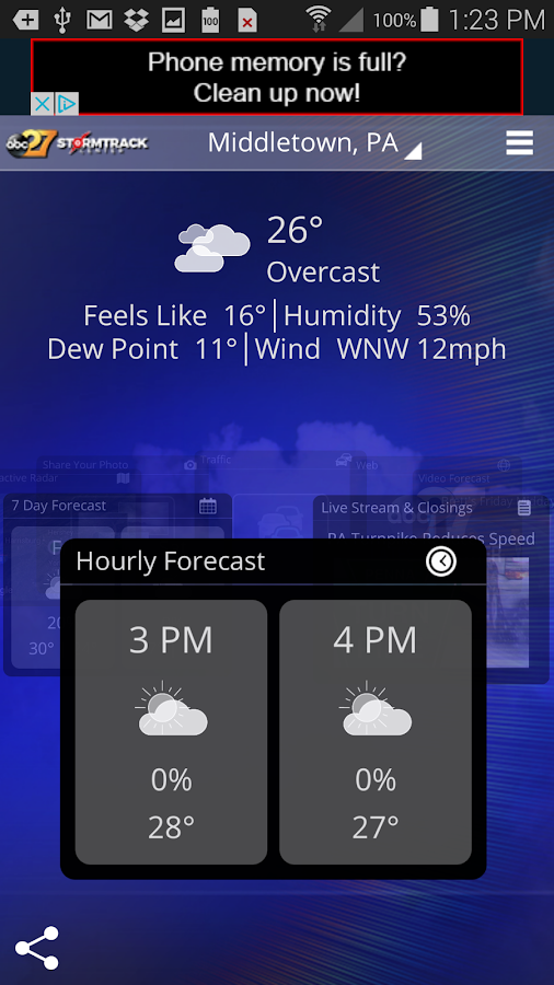 abc27 Weather - Harrisburg, PA- screenshot