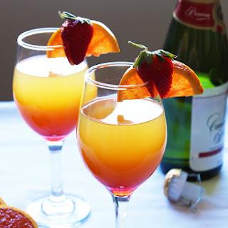 Sunrise Mimosas.