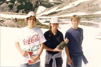 Photo: 1993 - Bariloche, Campamento anual