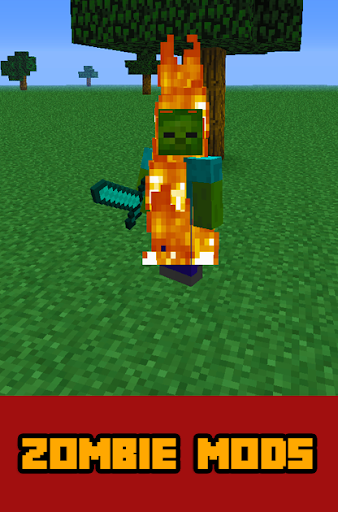 Zombie MODS For MCPE