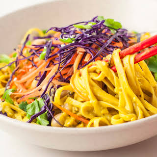 30-Minute Red Curry Noodle Bowl.