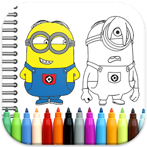 Game Minion Coloring Book APK For Windows Phone