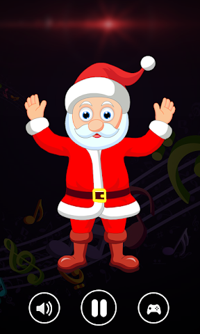 android Dancing Santa Game Screenshot 2